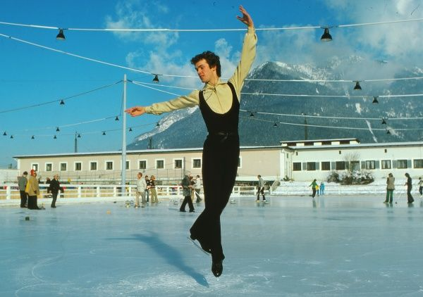 Figure Skating - 1976 Innsbruck Winter Olympics John Curry of Great Britain. He won the gold medal in the men's Singles, Britain's first-ever Olympic title in figure skating