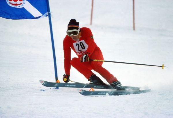 Alpine Skiing - 1976 Innsbruck Winter Olympics - Men's Giant Slalom West Germany's Albert Burger, who finished in tenth place at Axamer Lizum, Axams, Austria. 10/02/1976