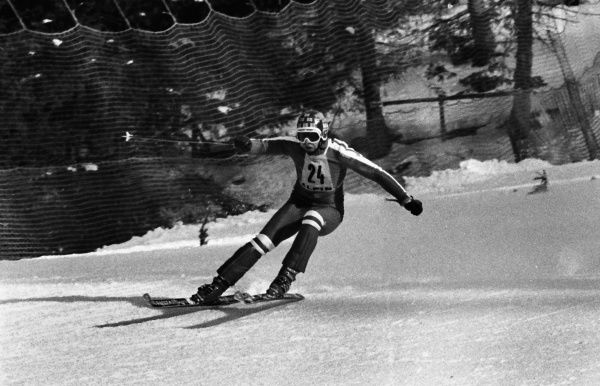 Alpine Skiing - 1976 Innsbruck Winter Olympics - Men's Downhill Training Great Britain's Conrad Bartelski at the Patscherkofel, Igls, Austria. 04/02/1976