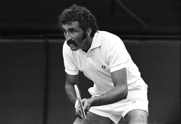 Tennis - 1971 Wimbledon Championships Romania's Ion Tiriac. He later became a successful businessman and in 2007 was the first Romanian to enter Forbes' List of billionaires