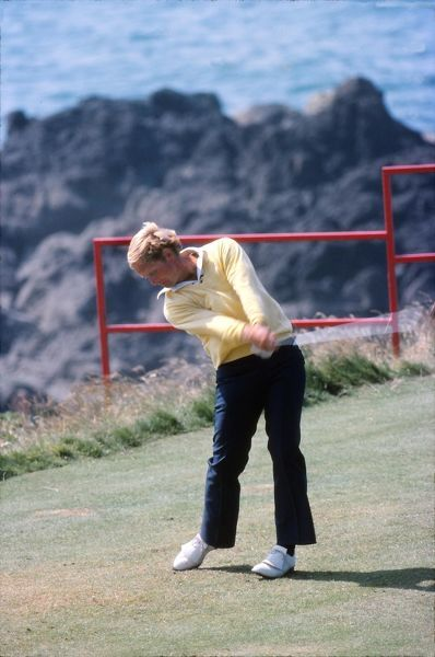 Golf - The Open championship Jack Nicklaus (USA)  British Open Golf Championships 1977 @ Turnberry  09/07/1977 Credit : Colorsport