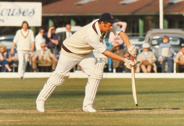 Cricket - 1974 John Player League - Northamptonshire beat Lancashire by 59 runs Jack Simmons bats for Lancashire at the County Ground, Northampton. The all-rounder made 429 first-class appearances for the county between 1968 and 1989, scoring 8773 runs