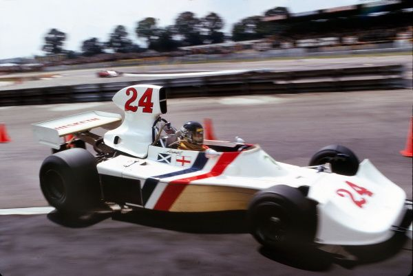 Motor Racing - 1975 Formula One (F1) World Championship - British Grand Prix Great Britain's James Hunt in his Hesketh-Ford at Silverstone