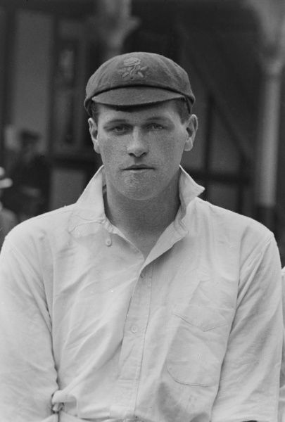 Cricket - 1914 season Lancashire's James 'Jas' (J.D.) Tyldesley. Tyldesley, a fast bowler, played 116 games for the county between 1910 and 1922