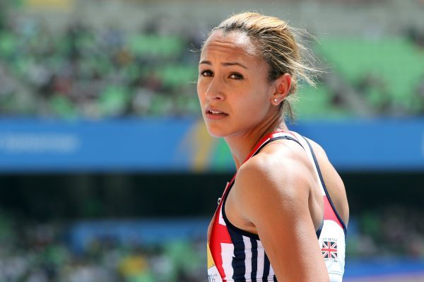 Athletics - World Championships 2011 - Daegu - Day Three Heptathlete Jessica Ennis of Great Britain takes instructions from her coach during day three of The Athletics World Championships in Deagu, South Korea on 29th August 2011