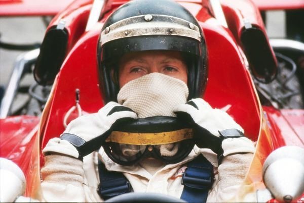 Motor Racing/Formula 1 Austria's Jochen Rindt (Lotus-Ford) 1970 British Grand Prix Brands Hatch Rindt won the race