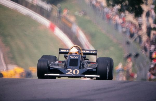Motorsport - 1978 Formula One (F1) World Championship - British Grand Prix  South Africa's Jody Scheckter of Walter Wolf Racing, at Brands Hatch. 16/07/1978