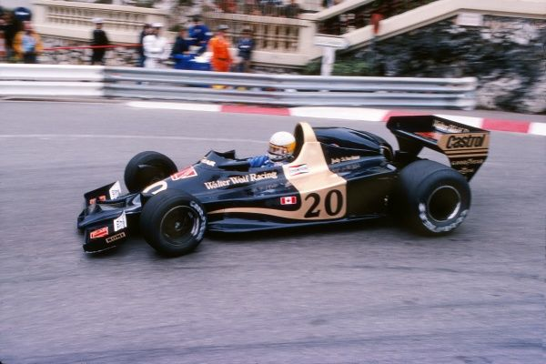 Motorsport - 1978 Formula One (F1) World Championship - Monaco Grand Prix South Africa's Jody Scheckter of Walter Wolf Racing at Monte Carlo. He finished in third place. 07/05/1978