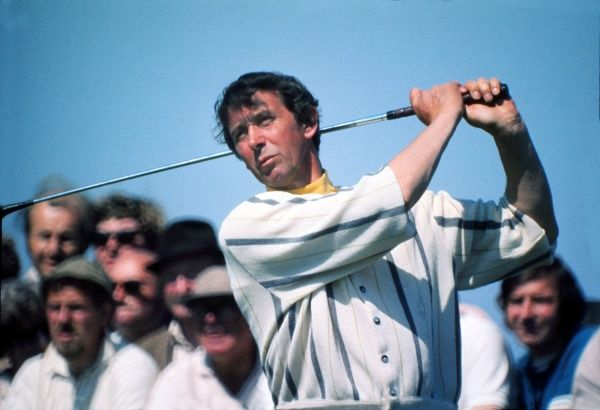 Joe Carr - Ireland. British Open Golf Championships 1971 Member of a record 11 Walker cup matches between 1947 to 1967. Credit : Colorsport