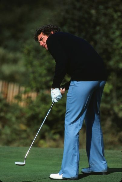 Golf - 1981 Ryder Cup - Walton Heath Europe's Jose Maria Canizares. The USA won the competition by a score of 18.5 points to 9.5. It remains the heaviest defeat that a European team has suffered in the Ryder Cup
