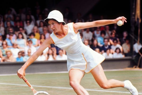 Tennis - 1970 Wightman Cup - Wimbledon Great Britain's Joyce Williams. The USA beat Great Britain 4-3. 14/06/1970