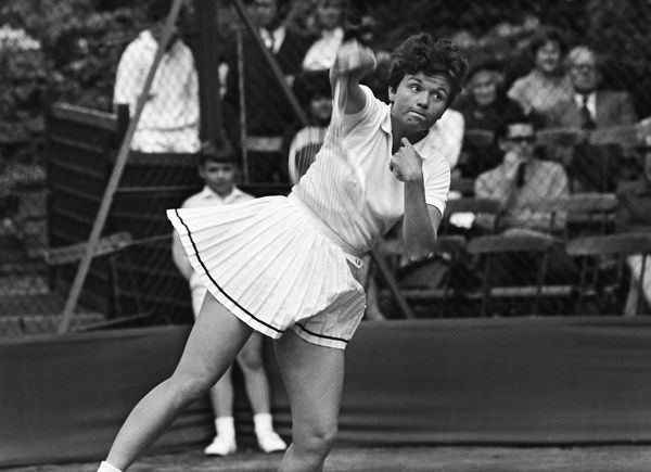 Tennis - Hurlingham Club Great Britain's Joyce Williams. May 1968