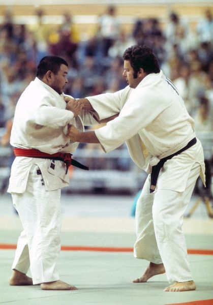Judo - 1976 Montreal Olympics Men's Heavyweight Pool A - Keith Remfry vs