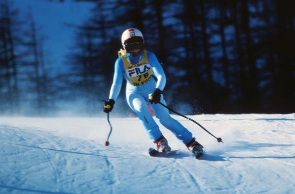 Kirstin Cairns - 1980 FIS World Cup - Val d'Isere
