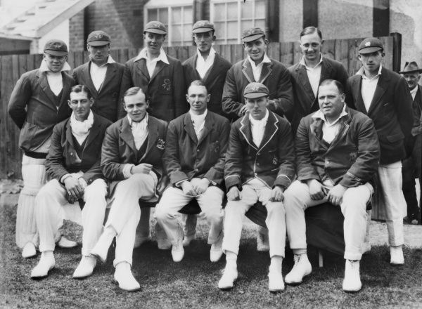 Cricket - 1927 season - Lancashire County Cricket Club team group Winners of the 1927 County Championship