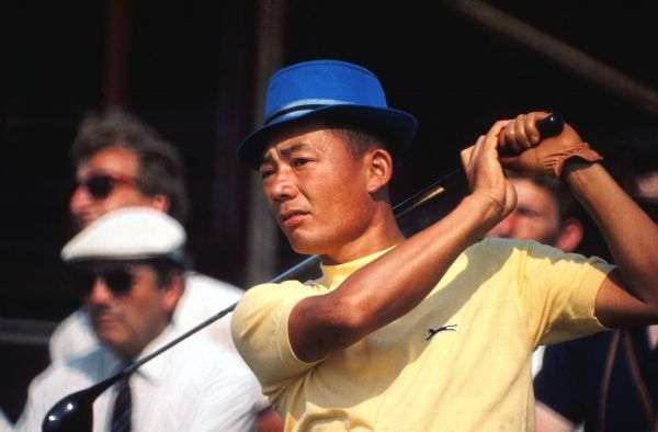 Golf Liang Huan Lu ( Taiwanese ) known as Mr. Lu.  British Open Golf Championships 1971  Approx Date: 09/07/1971 Credit : Colorsport