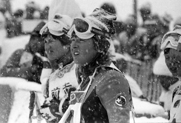 Alpine Skiing - 1972 Sapporo Winter Olympics - Women's Giant Slalom Switzerland's gold medal winner Marie-Theres Nadig at Mount Teine, Japan. The 17-year old also won a gold medal in the Downhill. 08/02/1972