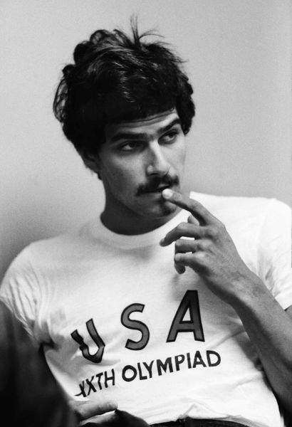 Mark spitz who would go on to win seven gold medals breaking seven