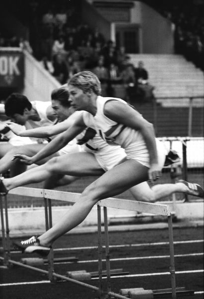 Athletics - Great Britain vs. West Germany Meeting - 22/9/67 Great Britain's Mary Rand