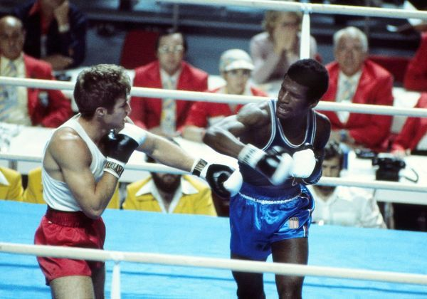 Boxing - 1976 Montreal Olympics Men's Middleweight Quarter-Final - Michael Spinks vs