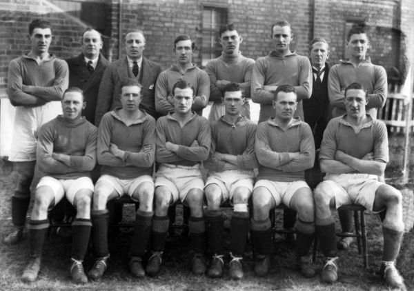 Nelson FC - 1924/25. Football - 1924 / 1925 season - Nelson FC Team Group