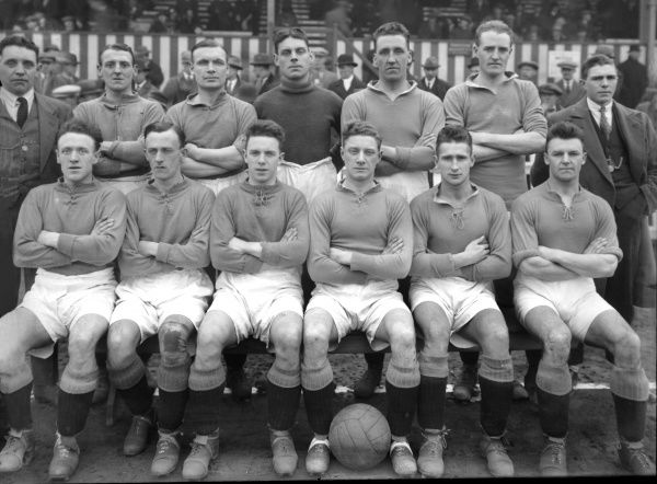 Nelson FC - 1926/27. Football - 1926 / 1927 season - Nelson FC Team Group