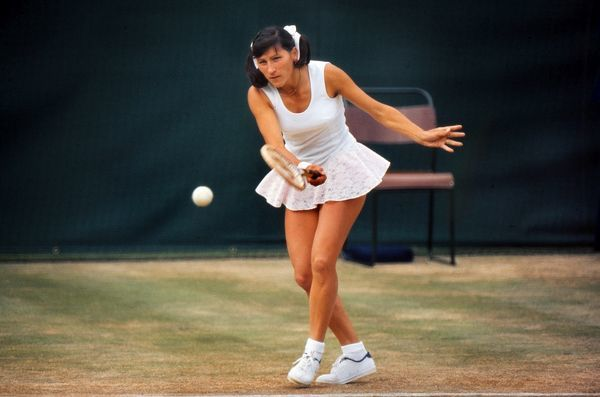 Tennis - 1974 Wimbledon Championships Olga Morozova of the Soviet Union. That year she reached the final of the Women's Singles