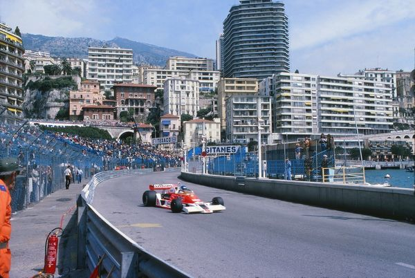 Motorsport - Formula One F1 World Championships - 1978 Monaco Grand Prix Patrick Tambay of France driving his McLaren Ford in Monte Carlo