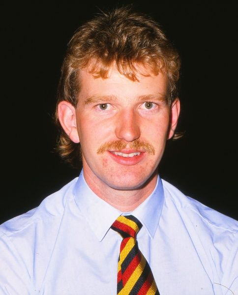 Cricket - 1984 / 1985 England Tour to India and Australia  Lancashsire's Paul Allott, who had to return home early due to injury