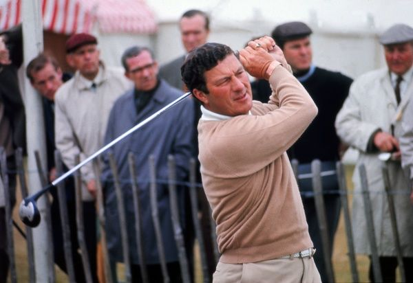 Peter Thomson - Australia. British Open Golf Championships 1969 @ Lytham St Annes Credit : Colorsport