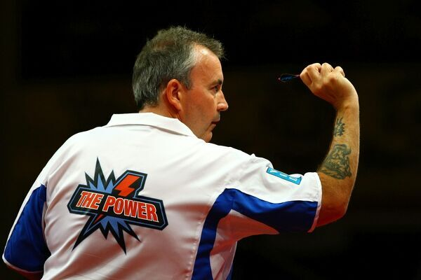 Darts - PDC World Matchplay  Phil 'the Power' Taylor at the Winter Gardens, Blackpool