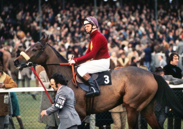 Horse Racing - Newbury - 1973 Hennessey Gold Cup Brian Fletcher on Red Rum