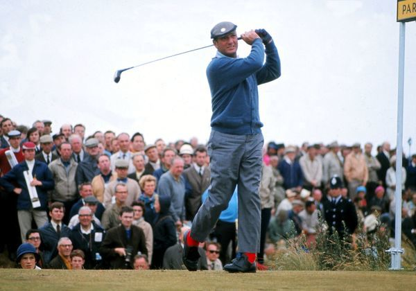 Roberto De Vicenzo British Open Golf Championships 1969 Credit : Colorsport