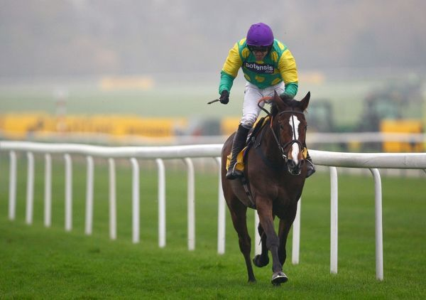 Horse Racing - Haydock Races Kauto Star, ridden by Ruby Walsh romps home to win the Betfair Chase