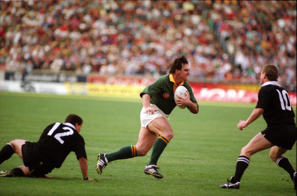 Rugby Union - 1992 All Black Tour of South Africa - South Africa 24 New Zealand 27     Danie Gerber of South Africa, at Ellis Park, Johannesburg