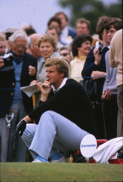 Golf - 1981 Ryder Cup - Walton Heath Europe's Sandy Lyle. The USA won the competition by a score of 18.5 points to 9.5. It remains the heaviest defeat that a European team has suffered in the Ryder Cup