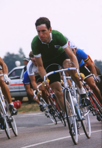 Cycling - 1982 UCI Road World Championships - Elite Men's Road Race Ireland's Sean Kelly, who finished in third place at Goodwood. 05/09/1982