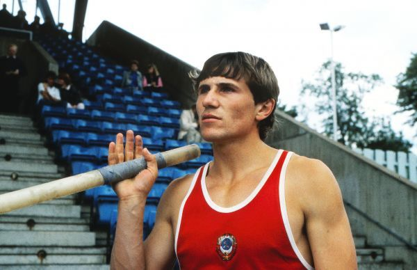 Athletics - 1985 Peugeot Talbot Games - Men's Pole Vault The Soviet Union's Sergey Bubka