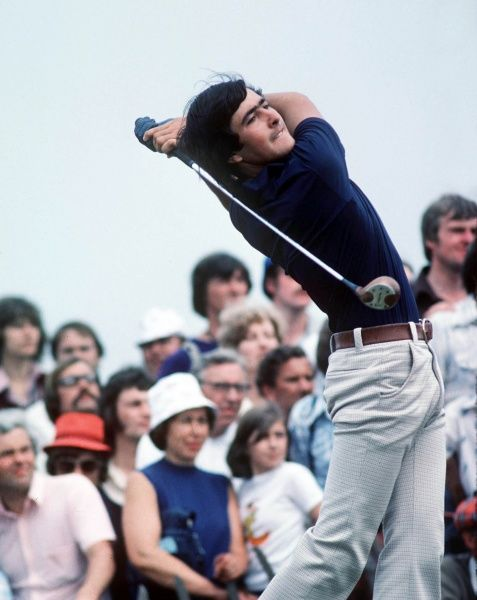 Golf Seve Ballesteros (ESP): 09/07/1976 British Open Golf Championships 1976 Royal Birkdale CREDIT : Colorsport