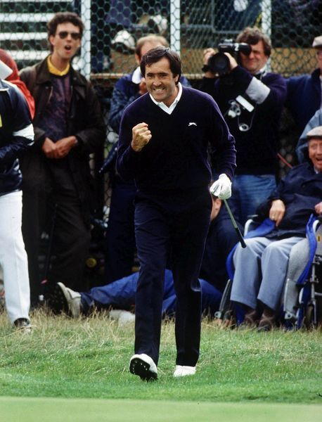 Golf Seve Ballesteros (Spain). on his way to Winning the British Open Championships 1988  14-17/07/1988 Credit : Colorsport