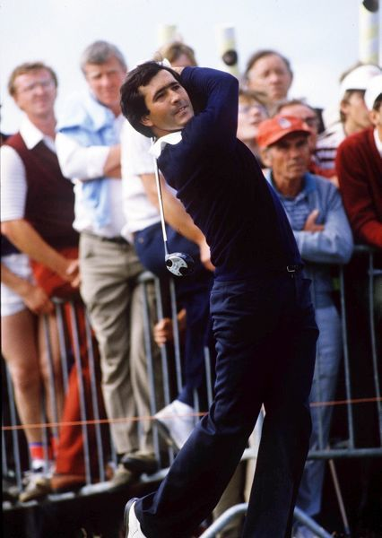 Golf : Seve Ballesteros (Spain) British Open Golf Championships 1984 St Andrews  19-22/07/1984 CREDIT : Colorsport