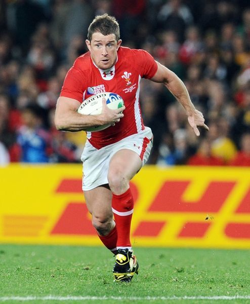 Wales - Australia ; Bronze Match ; RWC Auckland Shane Williams - Wales