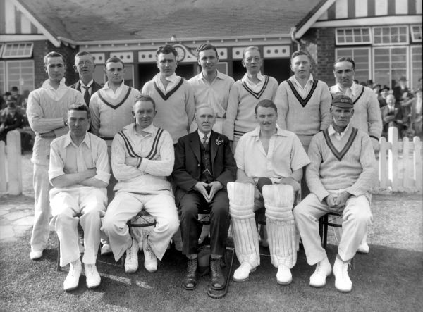 Smethwich C.C. 1935. Cricket - Smethwick Cricket Club Team Group, 1935