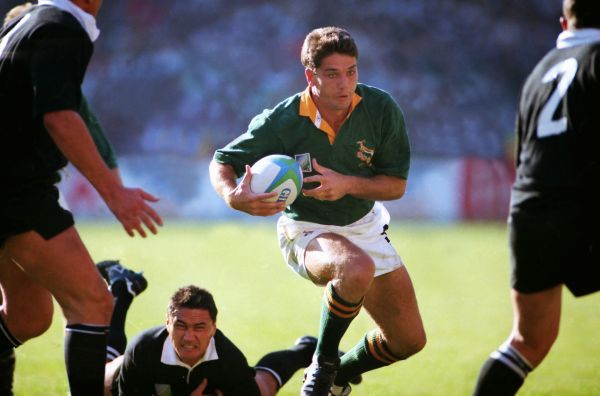 Joost van der Westhuizen (SA) JOHANNESBURG, 24/06/1995.  RUGBY WORLD CUP 1995 - FINAL.  SOUTH AFRICA V NEW ZEALAND  CREDIT: COLORSPORT/STUART MACFARLANE