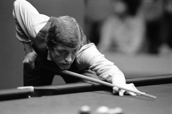 Snooker - 1981 World Championship - Quarter Final Steve Davis in action against Terry Griffiths