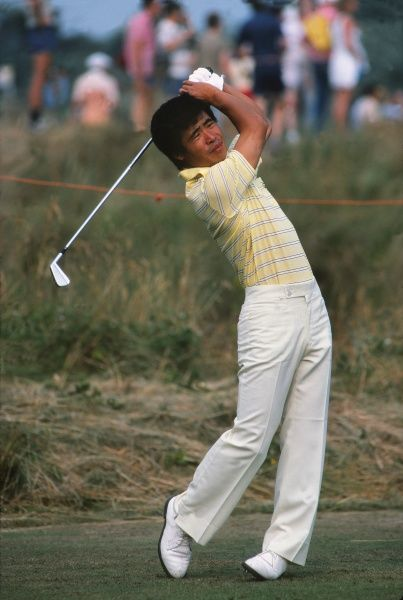 Golf Tohru Nakamura (Japan)  British Open Golf Championships 1983 @ Royal Birkdale  14 - 17/07/1983 Credit : Colorsport