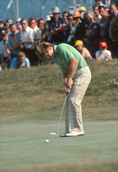 Golf - The Open Championship Tom Watson (USA) British Open Golf Championships 1977 @ Turnberry  09/07/1977 Credit : Colorsport