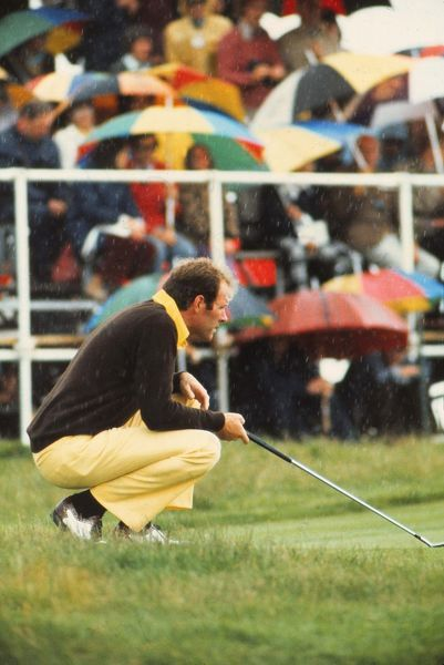 Golf Tom Weiskopf (USA) Winner of the British Open Golf Championships @ Troon 1973  14/07/1973  Credit : Colorsport