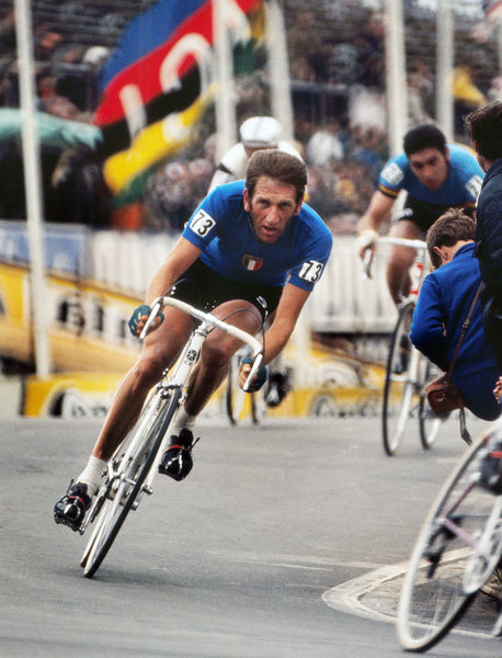 Road Cycling - 1970 UCI Road World Race Championships - Men's Professional Race     Italy's Vittorio Adorni at Mallory Park, Leicester