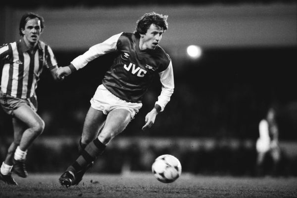 Vladimir Petrovic - Arsenal.(Yugoslavia). (played 10 games) 18/01/1983 Arsenal v Sheffield Wednesday League Cup 1982-83. Credit: Colorsport / Andrew Cowie